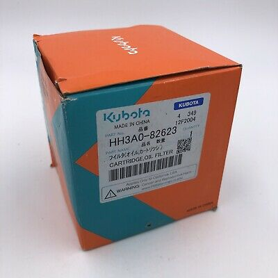 Oem Kubota Oil Filter Hh3a0-82623 For L3400 L3800 M5700 M6040 M7040 M8200 M8540