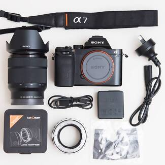Sony A7 + 28-70mm lens (Shutter count: 7k only)