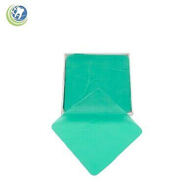 Dental Endodontic Rubber Dam Natural Latex Medium Gauge 5 X 5 Green - 36box