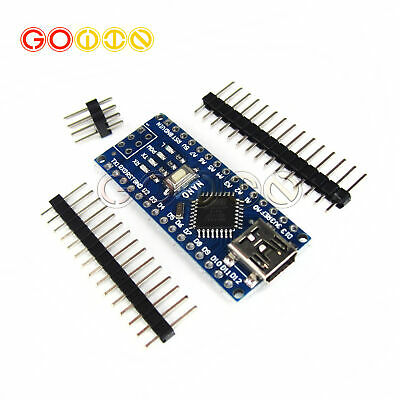 Mini Usb Nano V3.0 Atmega328p 5v 16m Micro-controller Board Arduino New