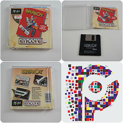 Paperboy A Encore Game for the Commodore Amiga Computer tested & working