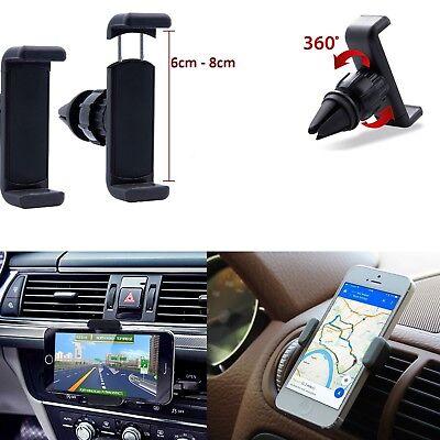Handy Halterung Auto Lüftung Gitter 360° Halter Telefon Apple Samsung Sony