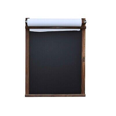 Beka Hanging Picture Frame Easel - Walnut (Includes Paper Roll) Easel Walnut Frames