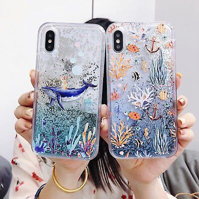Bling Dynamic Liquid Glitter Quicksand Cute Soft Case Cover For Phone Best