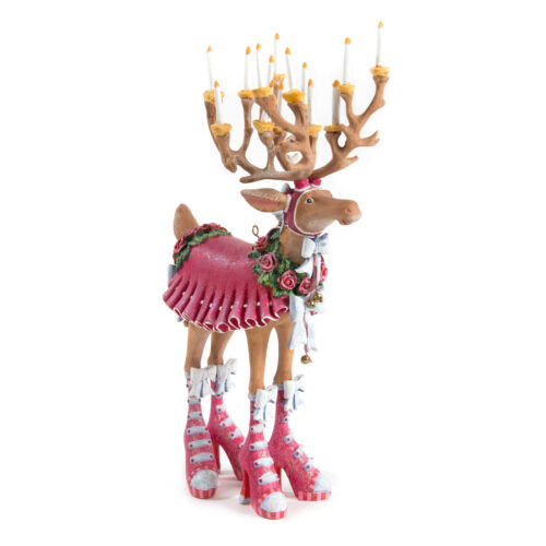 Patience Brewster DASHAWAY DONNA REINDEER FIGURE - Krinkles Item 08-30224 CUTE!