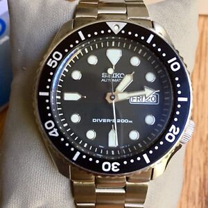 Custom Seiko SKX007 with SKX171 Dial and  Super Oyster
