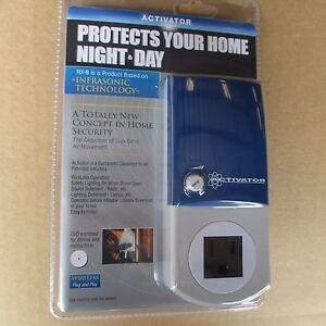 Motion sensor sound ebay burglar security sensor sound motion detector automatic light lamp switch plug workwithnaturefo