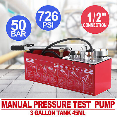 RP50 Weight Exam Emphasize, 12 Litre Oil and Soda water Heating System Leakage Tester