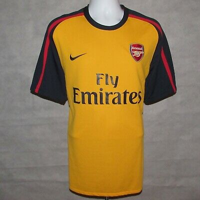 58b2f3116 2008-2009 Arsenal Away Football Shirt