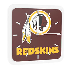 NFL Washington Redskins Home Office Room Decor Wall Desk Clock Magnet 6x6