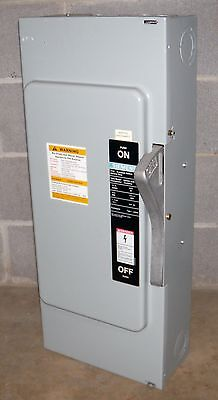 Siemens 200 Amp Safety Switch Cat Ju324 240 Vac 3 Pole Non Fusible Disconnect