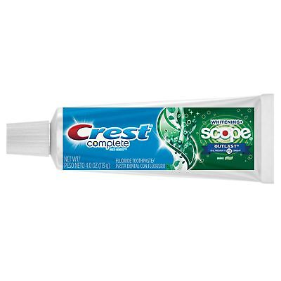 Extra White Plus Scope Mint - Crest Extra White Plus Scope Outlast Toothpaste, Long Lasting Mint 4 oz (Pack...