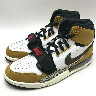 Nike Air Jordan Legacy 312 Men's Shoes White/Baroque Brown-Wheat AV3922-102