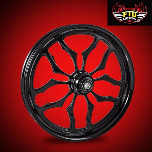 "Harley Davidson 30 Inch Black Front Wheel ""thrasher"""