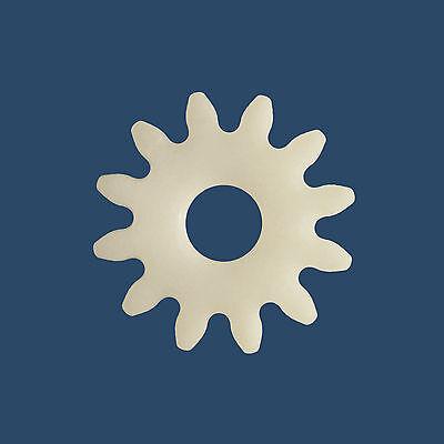 Zahnrad Kunststoff Modul 1,5 12 Zähne Stirnrad Stirnzahnrad 6mm Schaft Bohrung