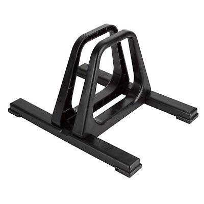 GRANDSTAND GEAR UP SINGLE BIKE FLOOR STAND RACK - INDOOR OR OUTDOOR