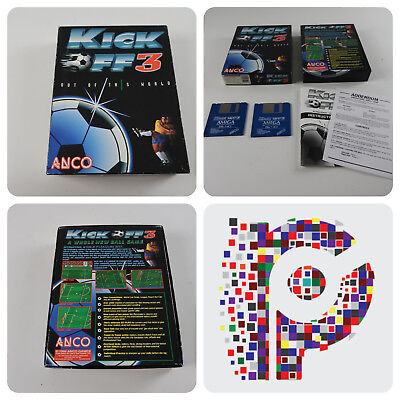 Kick Off 3 A Anco Game for the Commodore Amiga Computer tested & working
