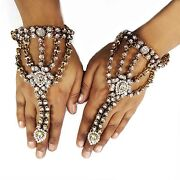 Bollywood Ring Bracelet