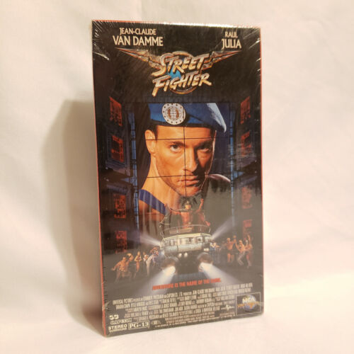 Street Fighter (VHS, 1995) / NEW + SEALED