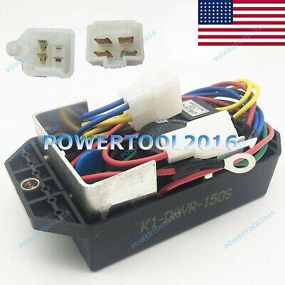 Voltage Regulator Avr Ki-davr-150s For Kipor Kama 12-15kw Single Phase Generator