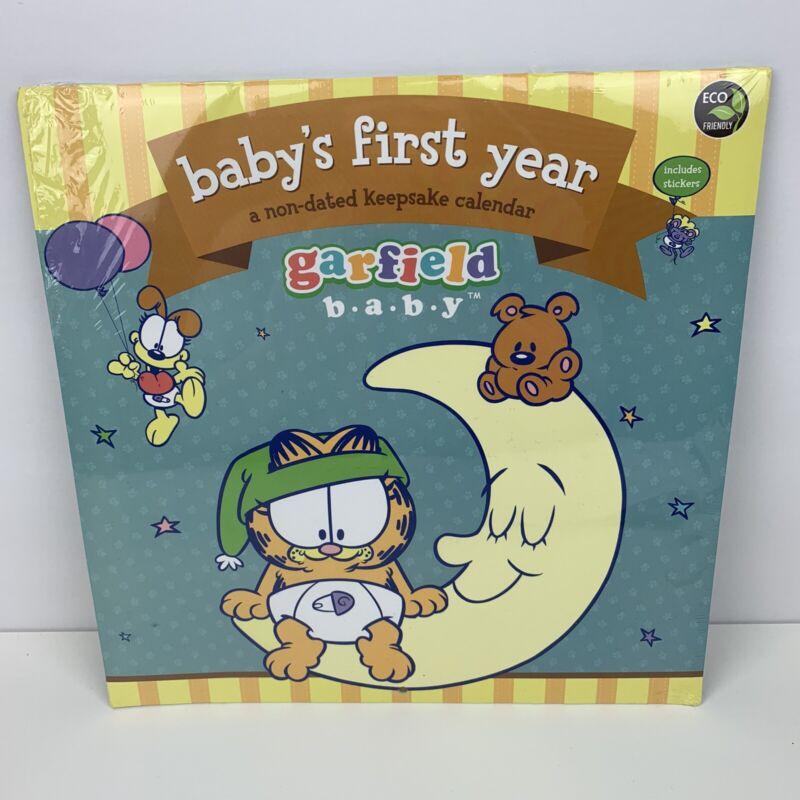 Garfield Baby's First Year Undated Keepsake Calendar