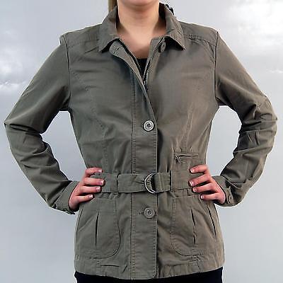 Trekking Jacke Damen  mit Gürtel Khaki Gr.: S,M,L  SPORT  Jacken neu
