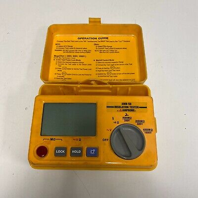 Amprobe Amb-50 Industrial High-voltage Insulation Tester No Probes