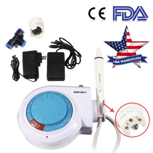 FDA USA Dental Ultrasonic Piezo Scaler fit EMS WOODPECKER CE