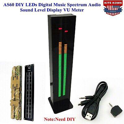 As60 Diy Leds Digital Music Spectrum Audio Sound Level Display Vu Meter