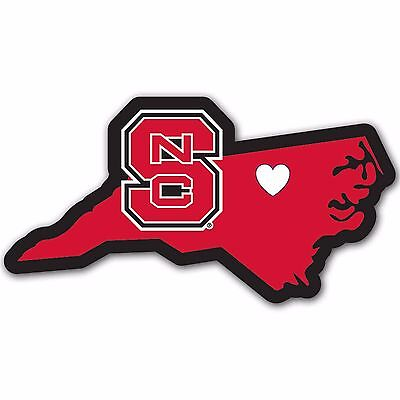 North Carolina State Wolfpack Home State Auto Car Window Vinyl Decal Sticker North Carolina State Wolfpack Car