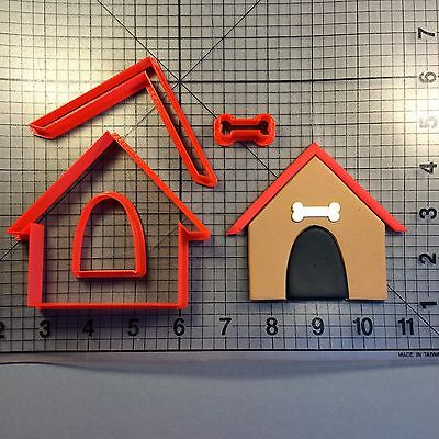 Dog House 100 Cookie Cutter Set Dog House Cookie Cutter