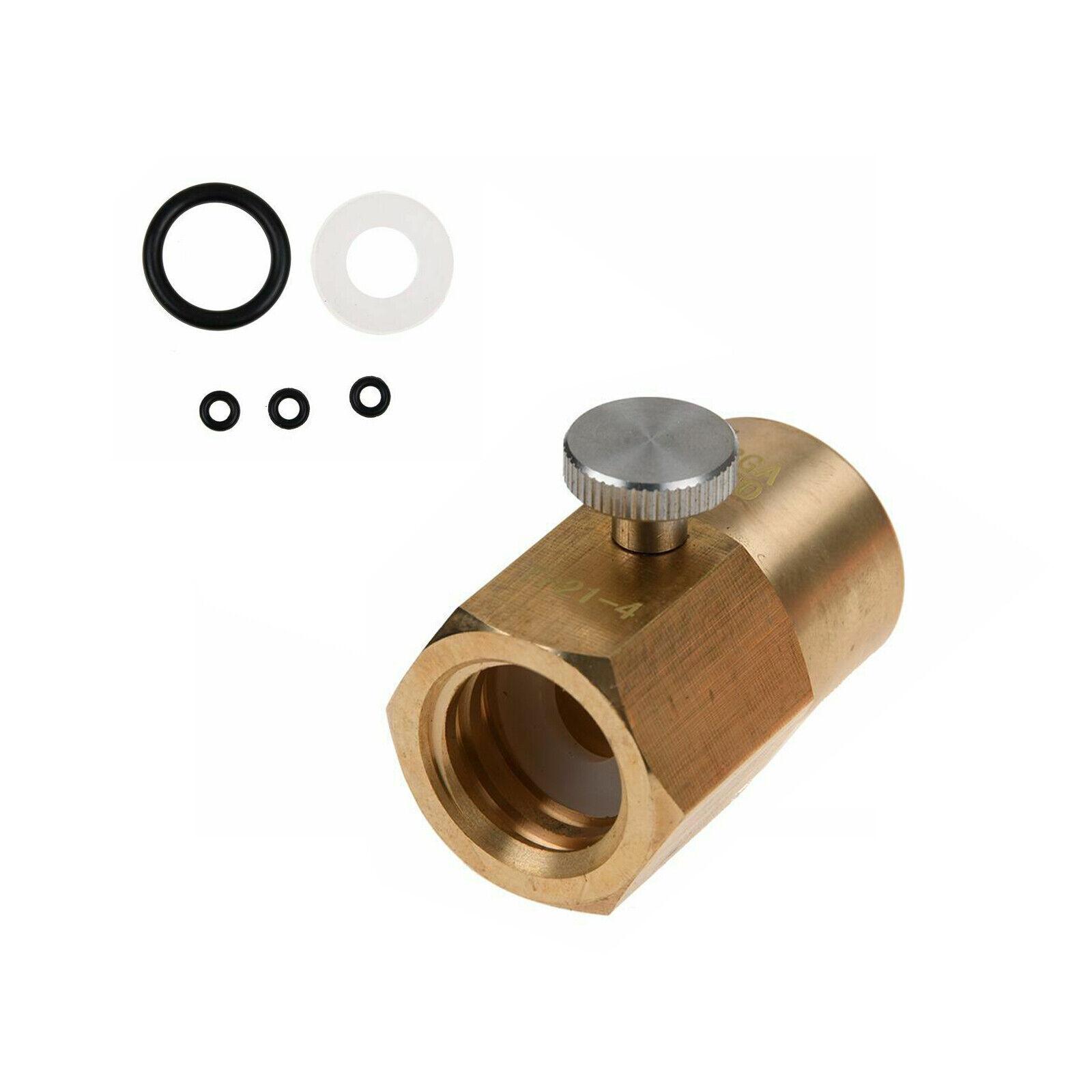 Für Sodastream Cylinder Refill Adapter TR21-4 Auf CGA 320 Connector Kit