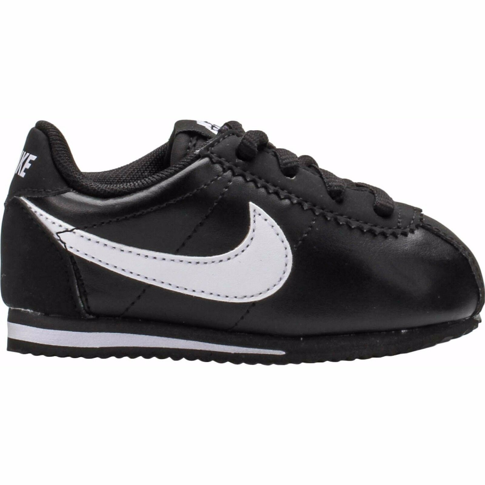 New Nike Baby Nike Cortez Toddlers Shoes 001 Black White