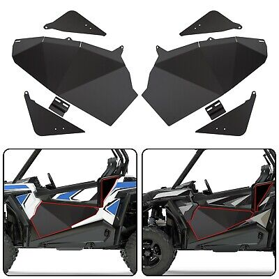 Lower Door Panel Inserts Half Doors for Polaris RZR S 900 XP 1000 Turbo 2016-19