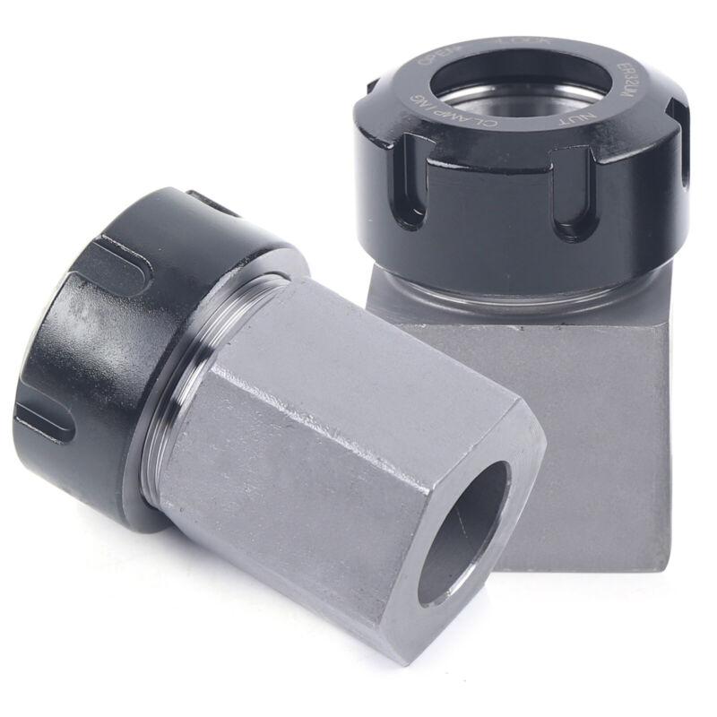 Hard Steel ER32 Hex+Square Square Collet Block CNC Milling Lathe Engraving Tool