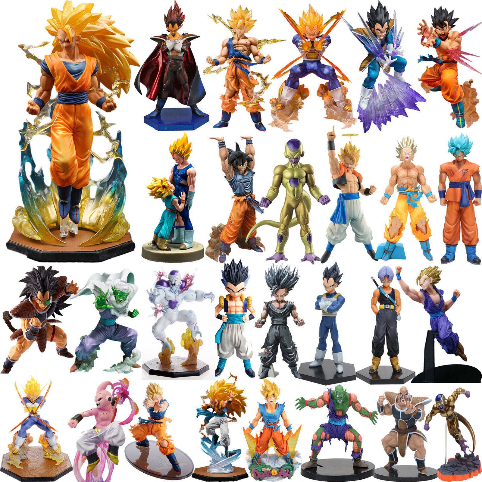 Collections Anime Dragon Ball Z Figure Jouets Frieza Figurine Statues 15cm