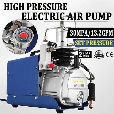 30mpa 4500psi High Pressure Air Pump Adjustable Auto-stop 13.2gpm Pcp Compressor