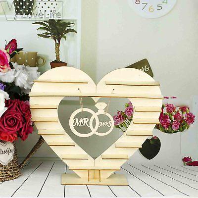 Mr & Mrs Ferrero Rocher Stand Chocolate Wedding Heart Display Stand Centerpiece