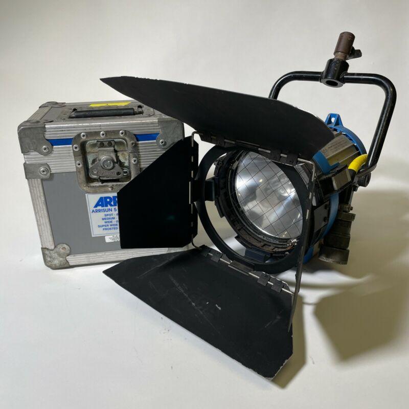 ARRI 575w HMI Compact Daylight PAR Head, Bulb and Barndoors, Lenses - 213 HOURS!