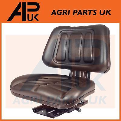 PVC Waterproof Black Seat with back rest boat tractor mini digger mower forklift tweedehands  verschepen naar Netherlands
