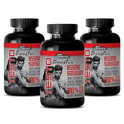 Best Male Sexual Supplement - TestoBooster T-855 - Vitamin B6 (Best Male Vitamin Supplements)