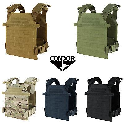 Condor 201042 Tactical MOLLE PALS Modular Lightweight Sentry Plate Carrier Vest