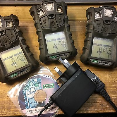 Msa Altair 4 X   Multi Gas Monitors Detector Meters
