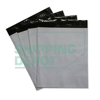 1-5000 9x12 White Poly Mailers Self Sealing Plastic Flat Shipping Bags 9 X 12