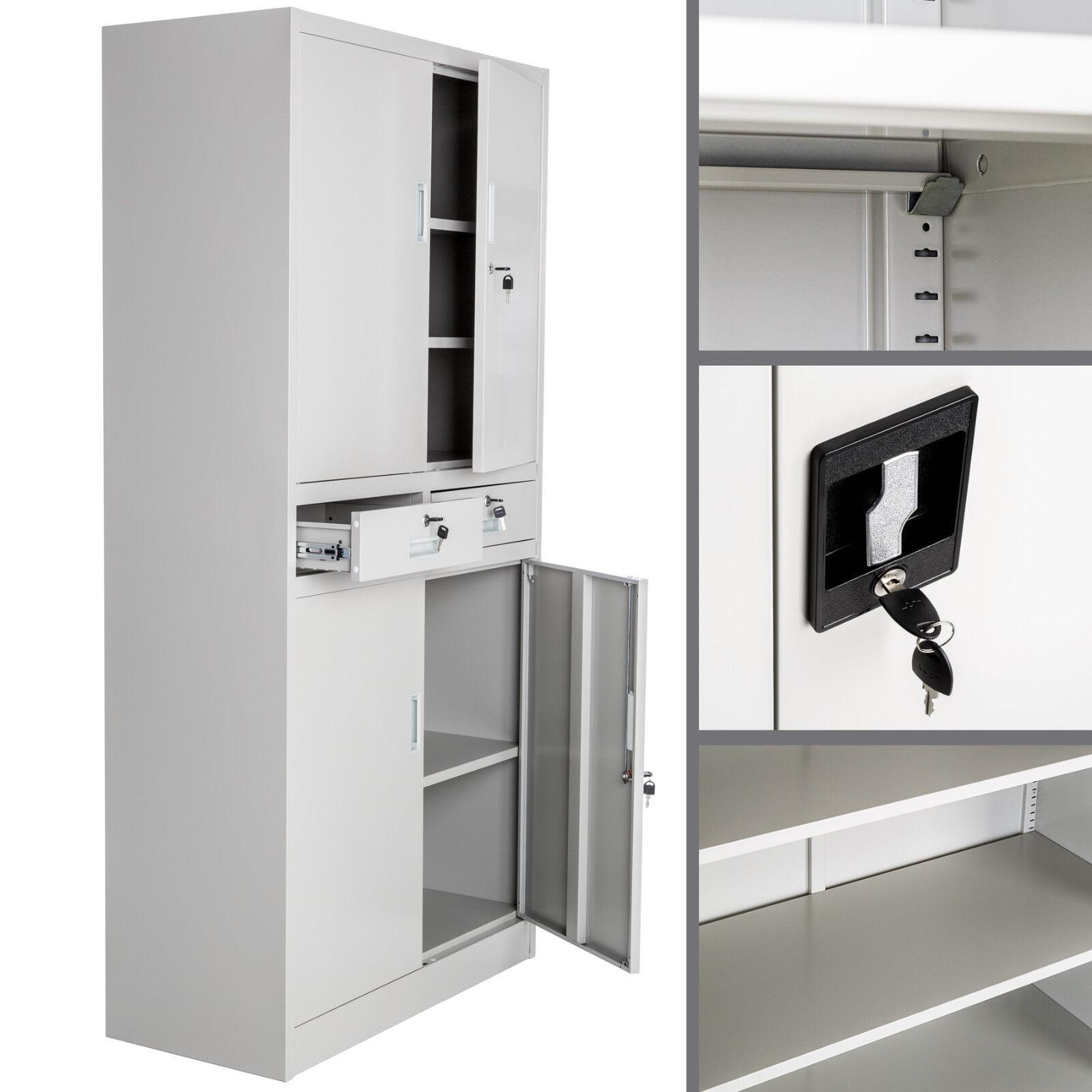 aktenschrank b roschrank archiv universal schrank stahlschrank materialschrank eur 149 99. Black Bedroom Furniture Sets. Home Design Ideas