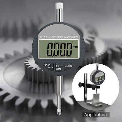 Digital Electronic Lcd Dial Indicator 0-0.5 Probe Test Gauge Range 0 - 12.7mm