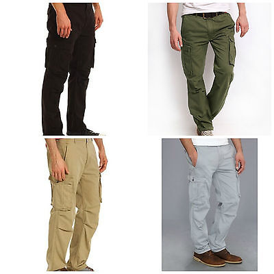 Levis Mens Ace Cargo Pants Relaxed Fit Nwt Many Sizes And Colors