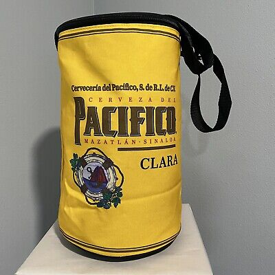 Pacifico Clara Insulated Cooler Bag With Zipper And Carry Strap, Pacifico Beer