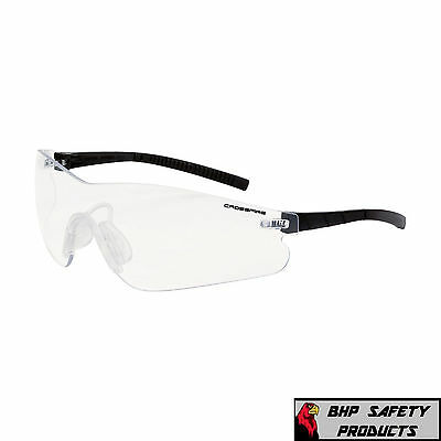 Crossfire Blade Safety Glasses Clear Anti-fog Lens Shooting 3024af 1 Pair