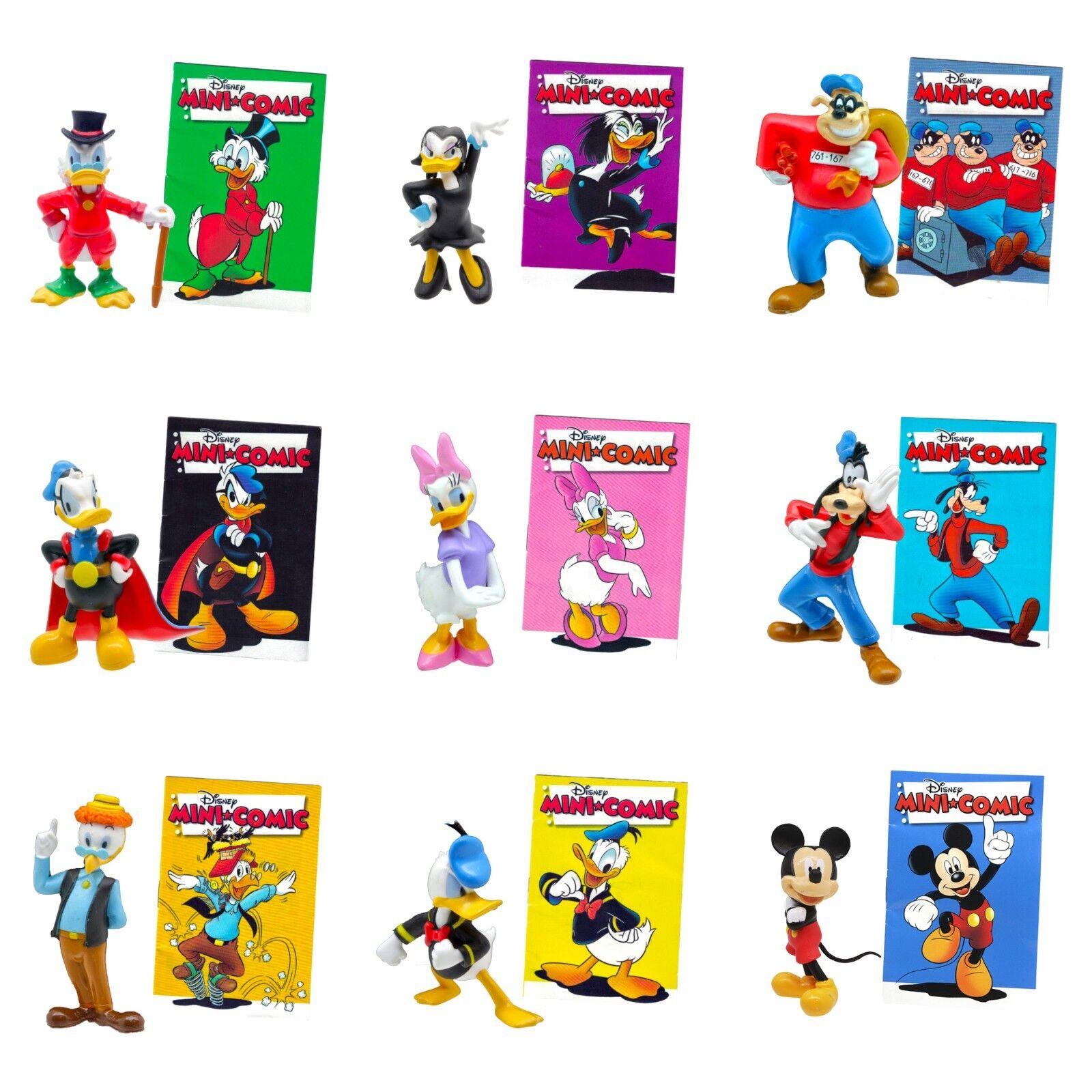 Disney Entenhausen Stars Auswahl Sammelfiguren + Mini-Comic